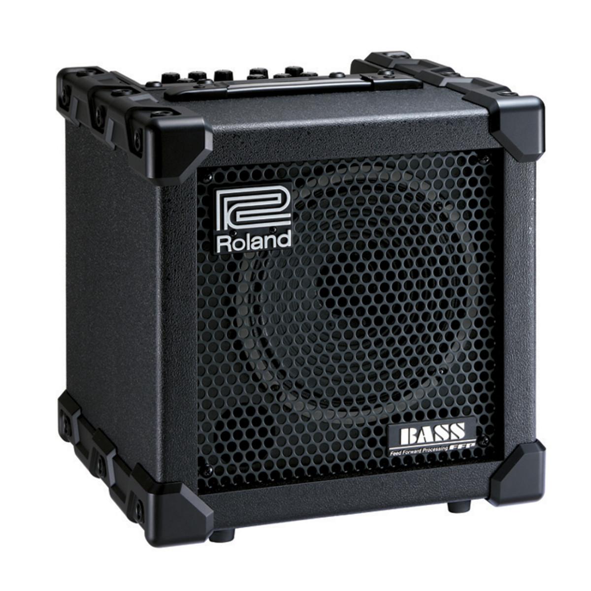roland cube 20 xl bass amp at. Black Bedroom Furniture Sets. Home Design Ideas