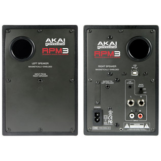 Akai RPM 3 Active USB Studio Monitors (Pair).2