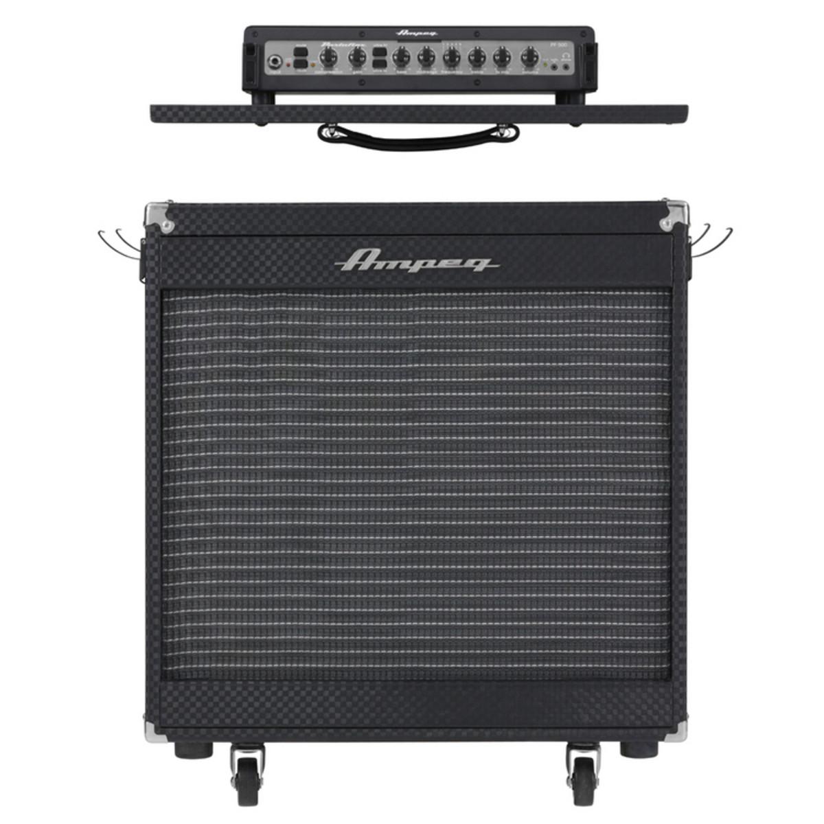 ampeg portaflex pf 500 bass amp 210 cab at. Black Bedroom Furniture Sets. Home Design Ideas