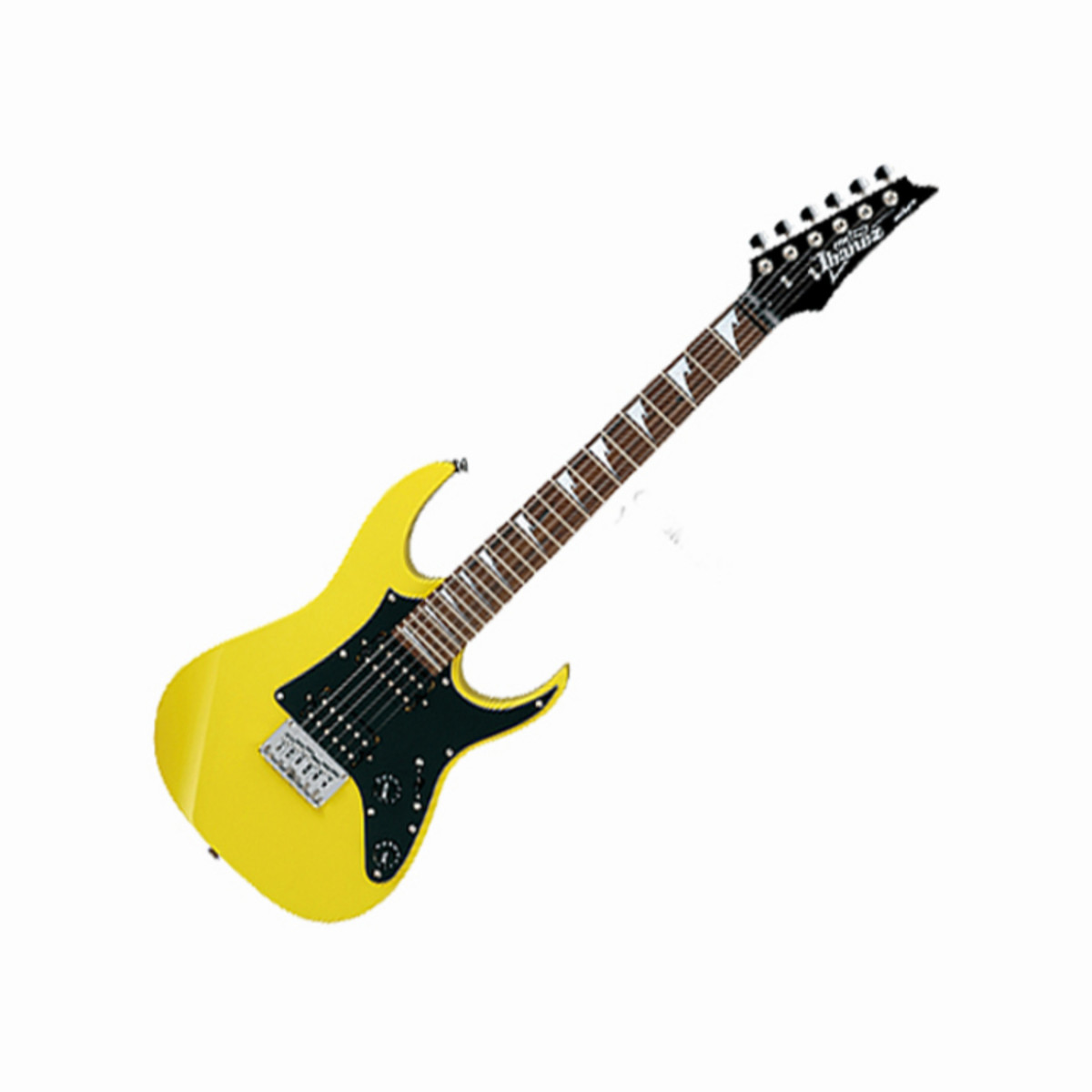 DISC Ibanez GRGM21 3/4 Mikro Electric Guitar, Yellow at ...