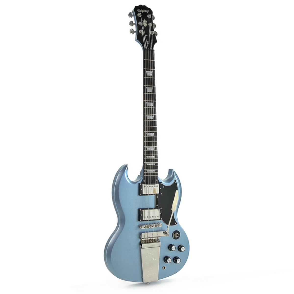 discontinued epiphone sg g 400 electric guitar pelham blue at. Black Bedroom Furniture Sets. Home Design Ideas