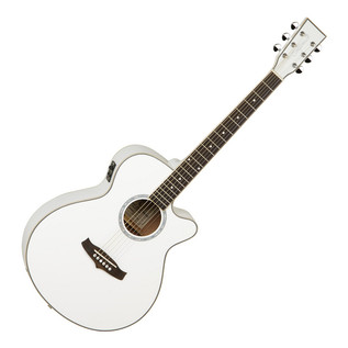 Tanglewood Evolution TSF Folk, White