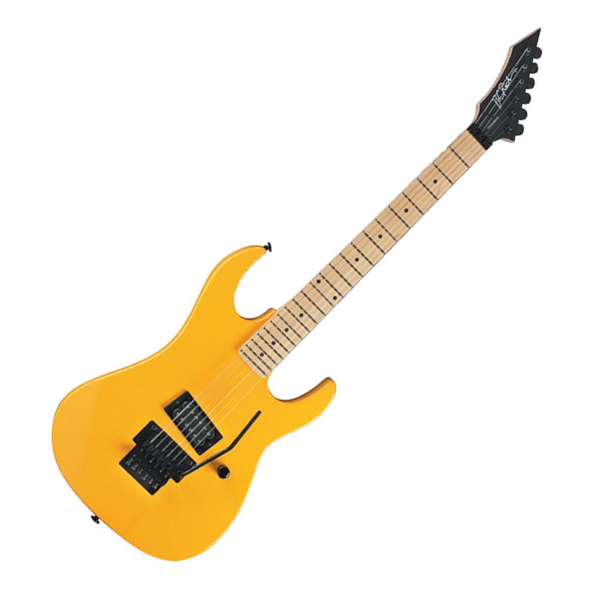 disc bc rich gunslinger retro guitar yellow at. Black Bedroom Furniture Sets. Home Design Ideas