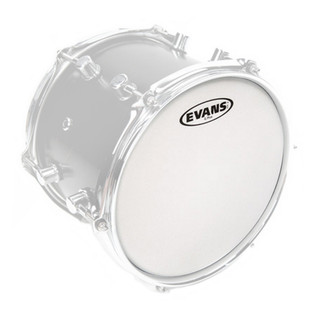 EVANS G Plus Coated White Drumhead 15