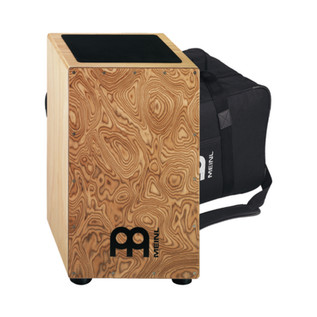 Meinl String Cajon Makah Burl Including Bag