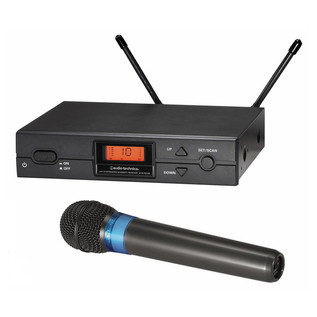 Audio Technica ATW-2120 F Band Handheld Wireless System