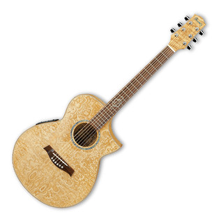 Ibanez EWC30ASE Exotic Wood Electro Acoustic Guitar, Natural