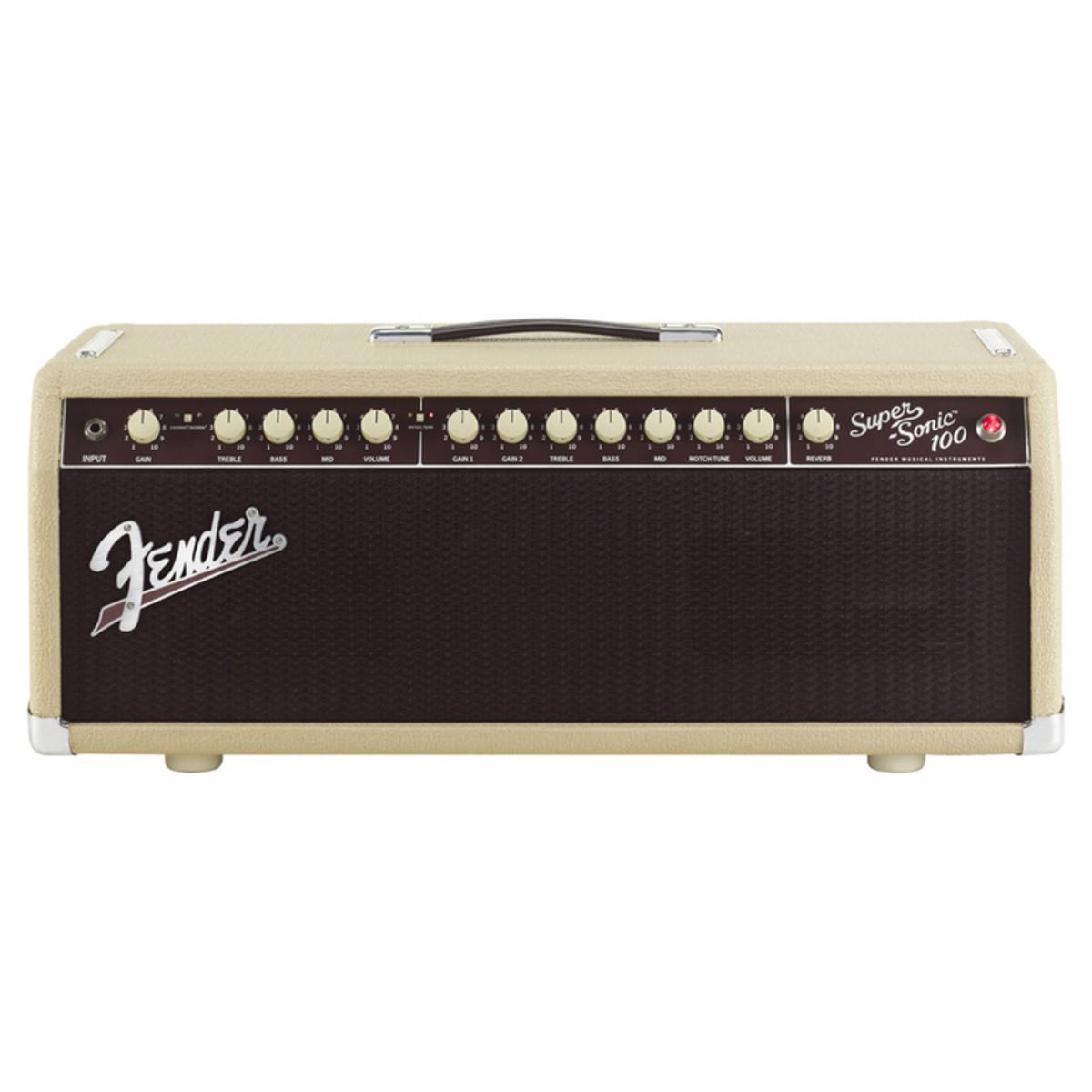 fender super sonic 100 watt guitar amp head at. Black Bedroom Furniture Sets. Home Design Ideas