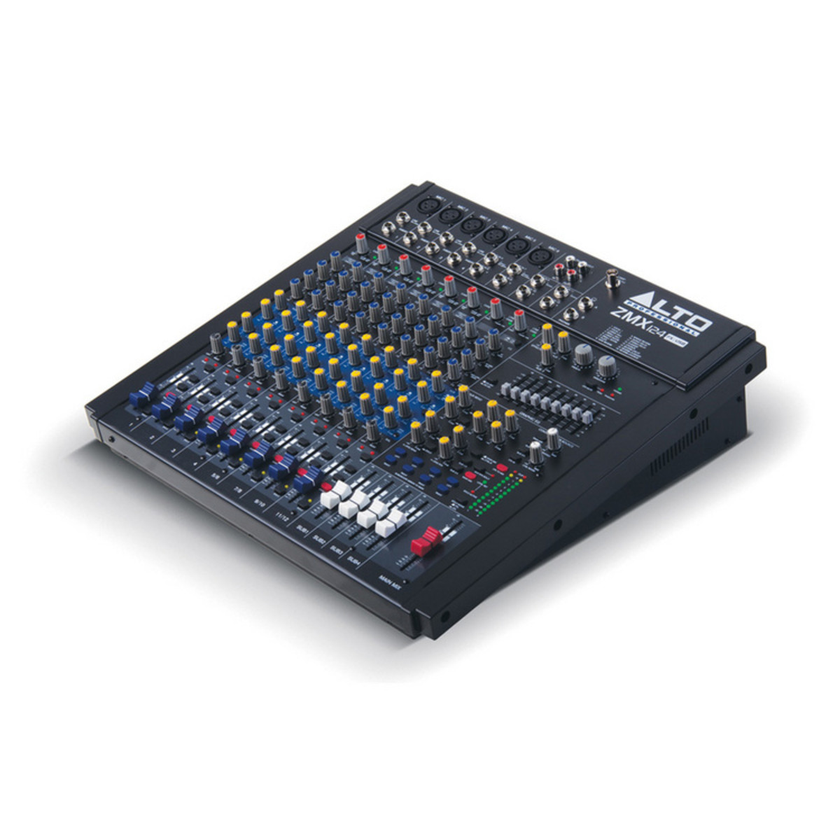 Puis zmx124fx 12 canaux compact dsp usb table de mixage for Table de mixage zmx 52