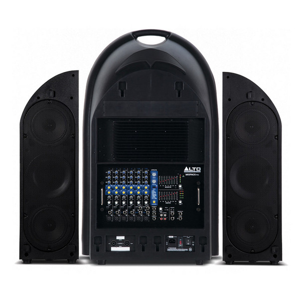 Alto Mixpack Pro Portable 1000w Powered PA System