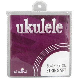 Ukulele Strings, Black