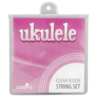 Ukulele Strings, Clear
