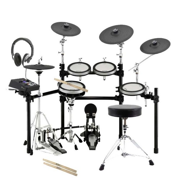 Yamaha dtx 700 electronic drums gear4music for Yamaha dtx 700