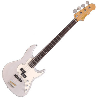 Fret King Blue Label Perception 4 Bass, Ice White