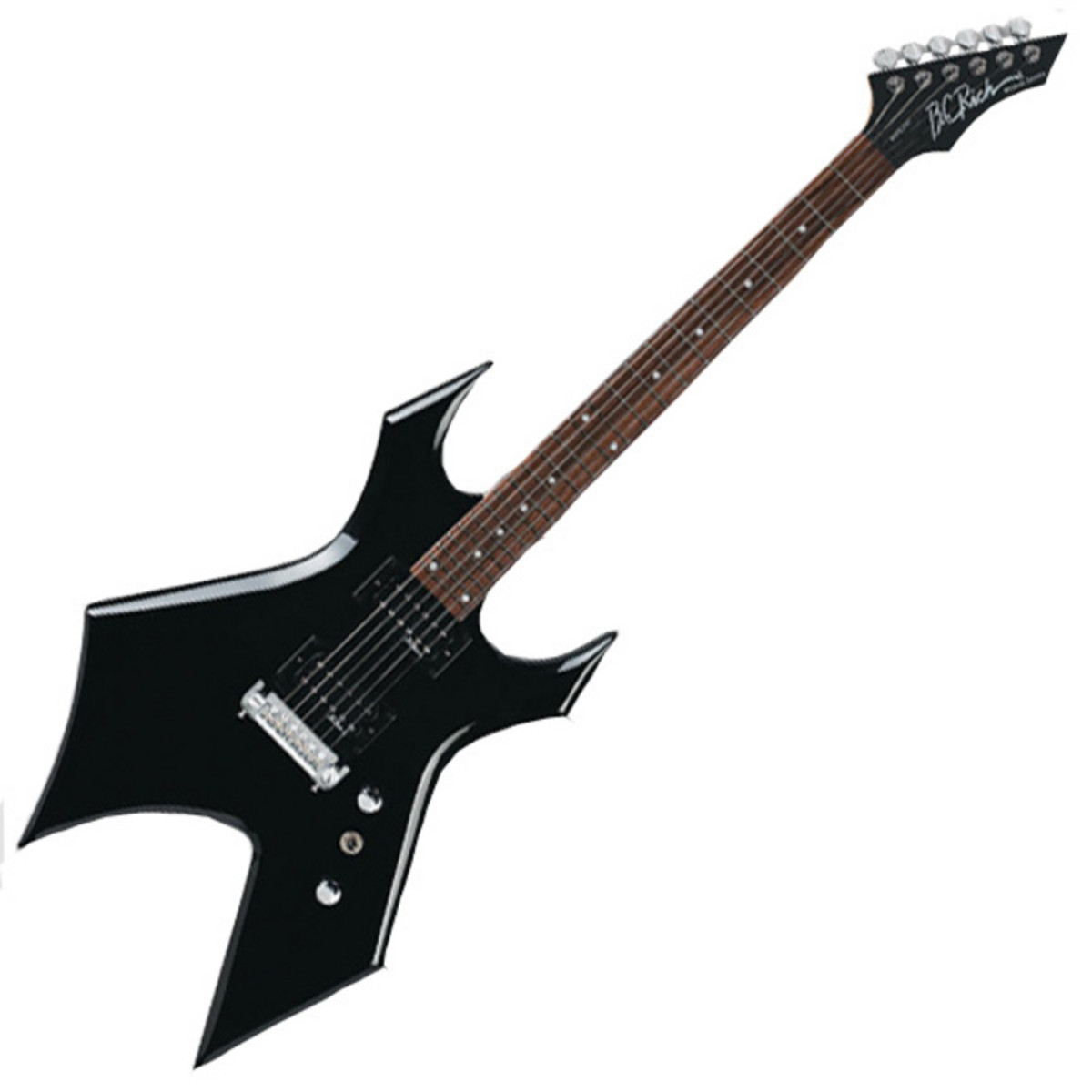 disc bc rich warlock one guitar onyx black at. Black Bedroom Furniture Sets. Home Design Ideas