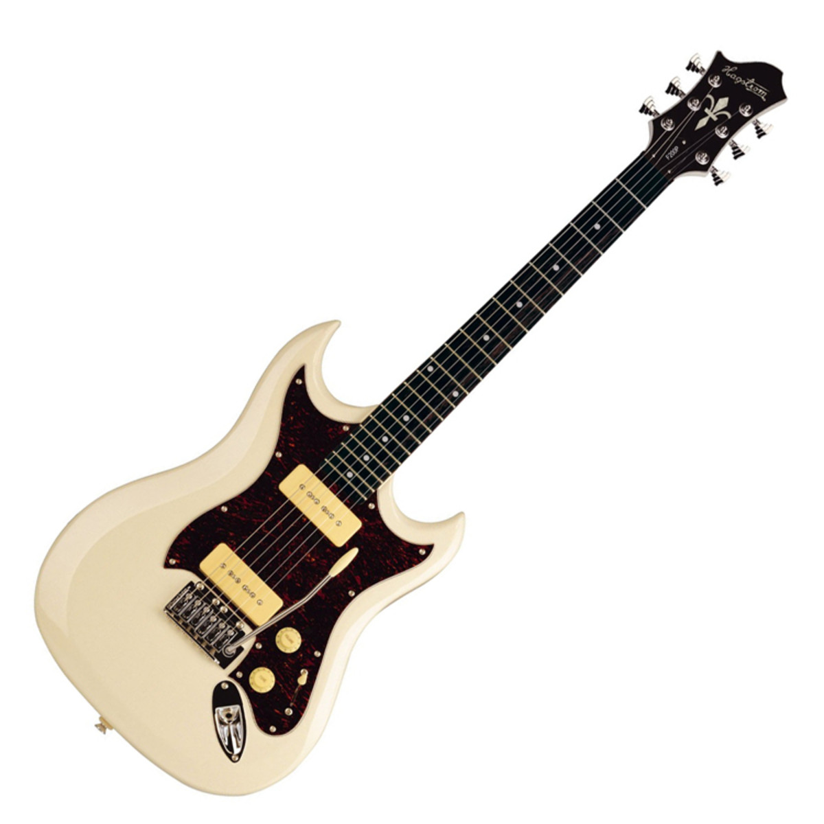disc hagstrom f200p electric guitar cream at. Black Bedroom Furniture Sets. Home Design Ideas