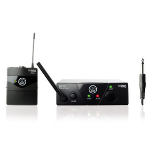 AKG WMS40 Mini Wireless Instrument Set ISM 3