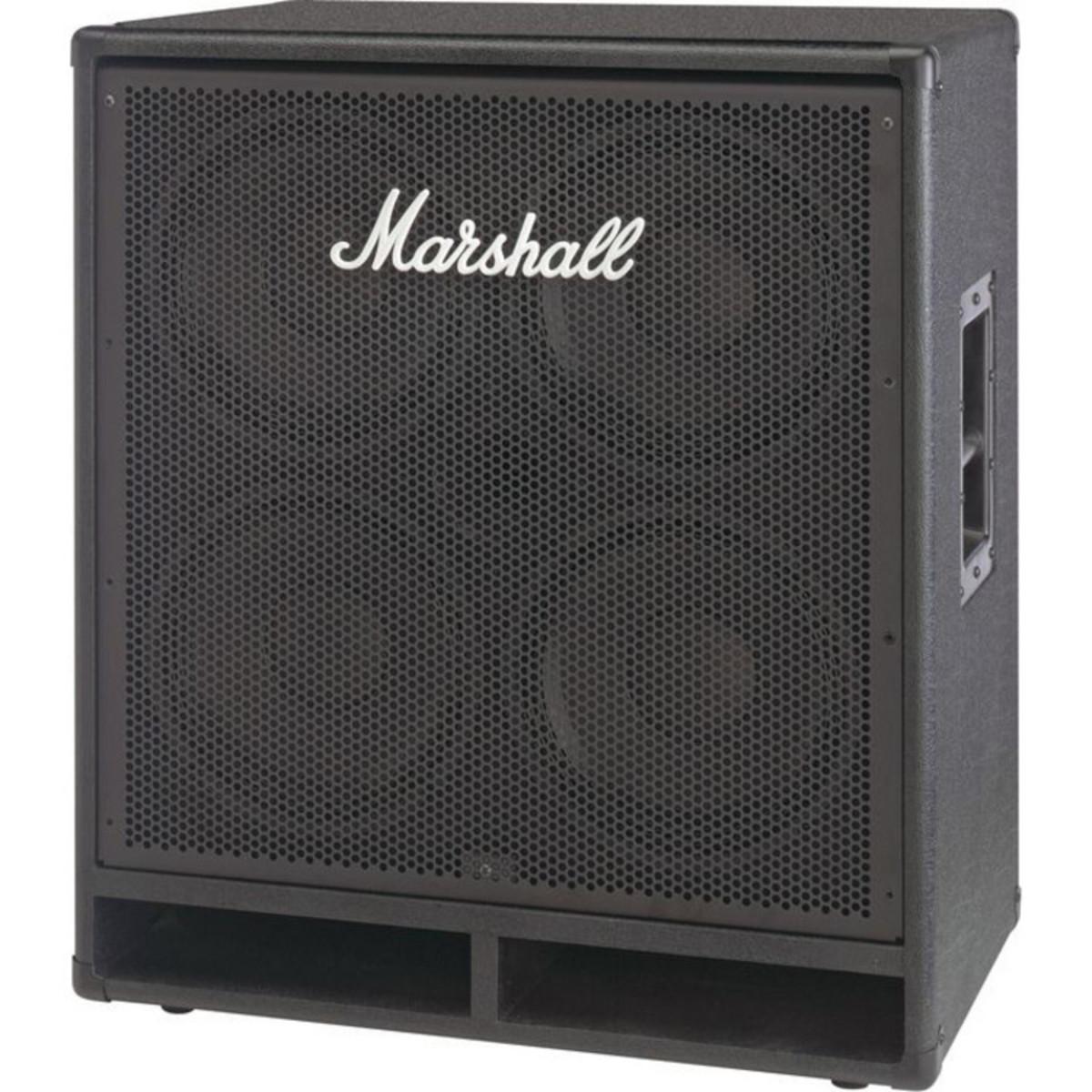 4x10 Guitar Cabinet Marshall Mbc410 600w 4x10 Bass Speaker Cabinet At Gear4musiccom
