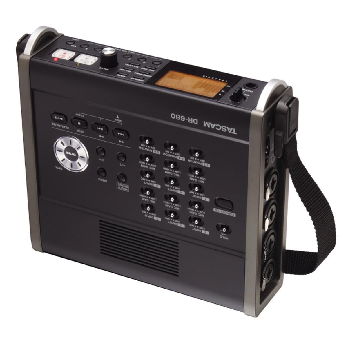 tascam dr 680 8 track multi track field recorder at. Black Bedroom Furniture Sets. Home Design Ideas