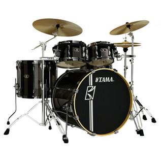 Tama Superstar Hyperdrive Drum Kit, Hairline Metallic Black