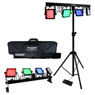 KAM LED PartyBar Portable Lighting Package