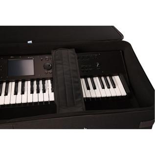 Gator GK-88 Slim, Rigid Foam Keyboard Case interior
