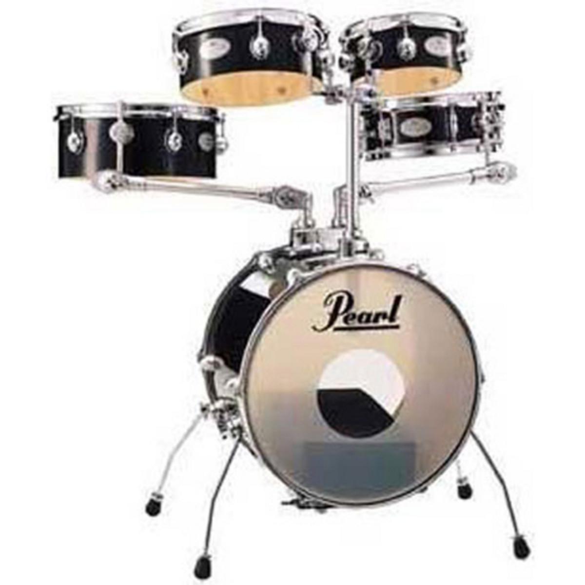 pearl rhythm traveler rgt665 gig kit jet black nearly new at. Black Bedroom Furniture Sets. Home Design Ideas