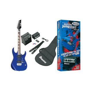 Ibanez GRX70 Jumpstart Electric Guitar Pack Jewel Blue -