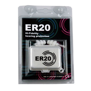 ETY ER20 Hi-Fidelity Hearing Protection with Case