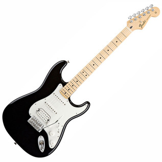 Fender Standard Stratocaster HSS, Black, Tinted Neck