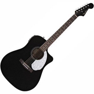 Fender Sonoran SCE Guitar, Black