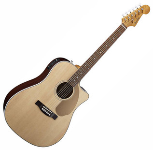 Fender Sonoran SCE Guitar, Natural
