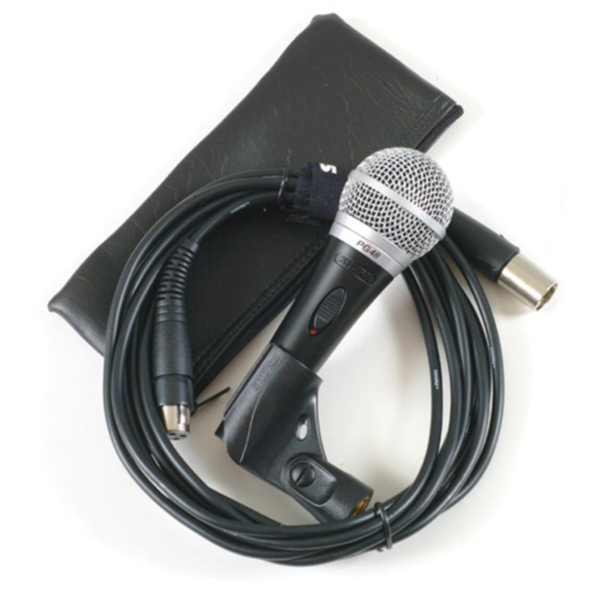 Shure Pg48 Dynamic Microphone With Xlr To Xlr Cable At