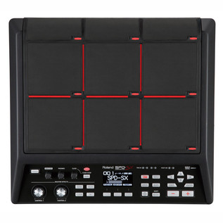Roland SPD-SX Sampling Pad - top
