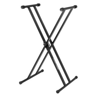 Ultimate Support JamStands JS-502D Double X-Frame Keyboard Stand