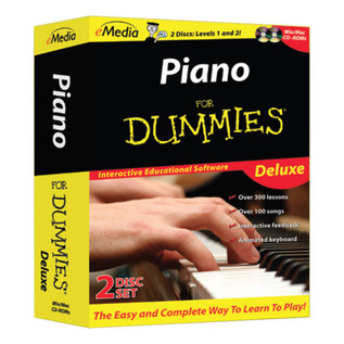 Piano For DUMMIES, Deluxe With eMedia CD Rom