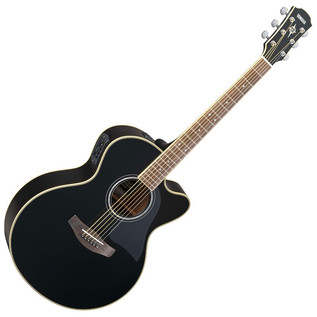 Yamaha CPX700II Electro Acoustic Guitar, Black