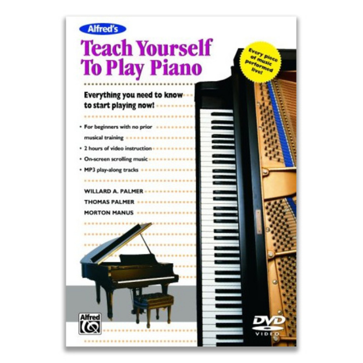 Image of Teach Yourself to Play Piano DVD