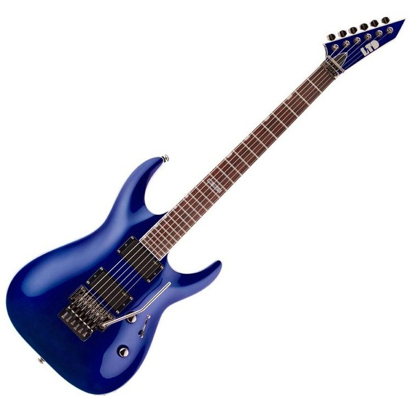 ESP LTD MH330FR Active Series Electric Guitar, Electric Blue