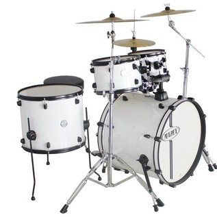 Mapex HX American Fusion Kit, Limited Edition, Snow White