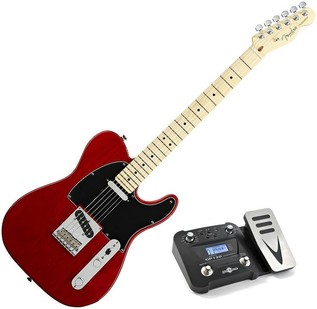 Fender American Standard Telecaster, Crimson Red, MN, Pedal Pack