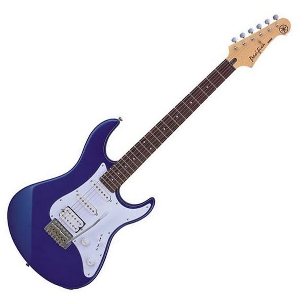 Yamaha Pacifica 012 Electric Guitar, Metallic Blue, Pedal Pack - Guitar