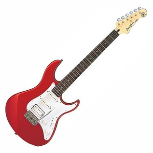 Yamaha Pacifica 012 Electric Guitar, Red, Pedal Pack - Guitar