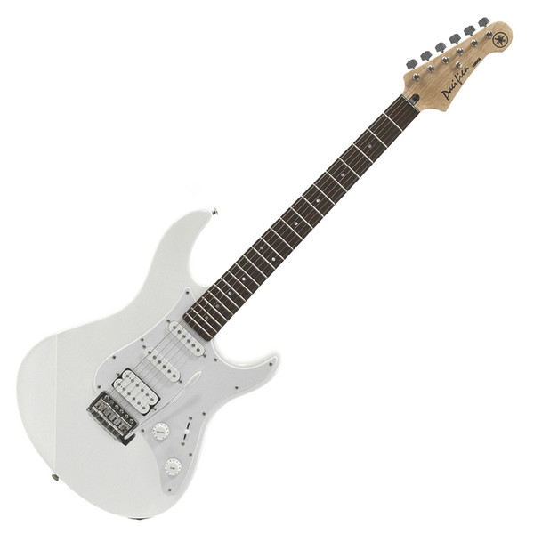 Yamaha Pacifica 012 Electric Guitar, Vintage White, Pedal Pack - Guitar