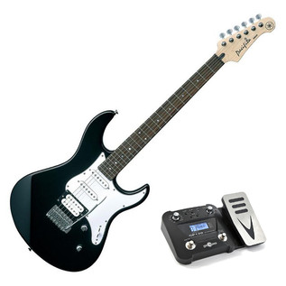 Yamaha Pacifica 112 V Electric Guitar, Black, Pedal Pack