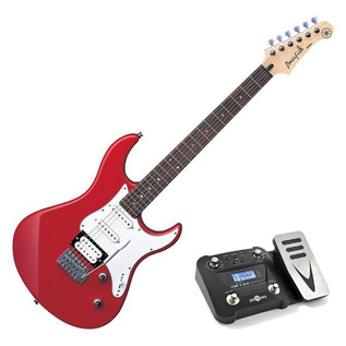 Yamaha Pacifica 112 V Electric Guitar, Red, Pedal Pack