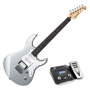 Yamaha Pacifica 112 V Electric Guitar, Silver, Pedal Pack