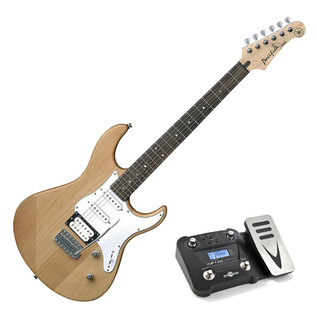 Yamaha Pacifica 112 V Guitar, Natural, Pedal Pack