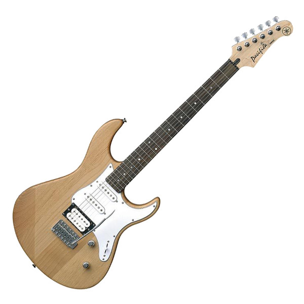 Yamaha Pacifica 112 V Guitar, Natural, Pedal Pack - Guitar