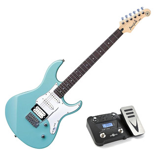Yamaha Pacifica 112 V Electric Guitar, Sonic Blue, Pedal Pack